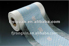 Cloth like film for baby diaper and sanitary napkin adult diaper