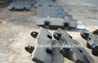High Manganese Steel Track Shoe for Excavator