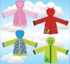 transparent PVC Children Raincoat