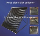30 tubes alluminum alloy heat pipe vacuum tube solar collector for cold climate