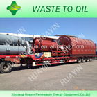 Hot Selling continuous no pollution plastic to diesel machine