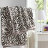Leopard Printed Thermal Coral Fleece Blankets