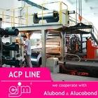 High quality fast acp/aluminium composite panel/board production line