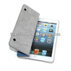 flip fashion leather case for ipad mini