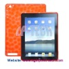 2012 New Honeycomb Design TPU Skin protector Cover for ipad 3