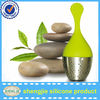 Leaf shape Stainless Steel Silicone tea infusers wholesale