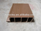 800g/m brown walnut colour foshan city pvc plastic door profile