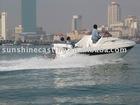 Fiberglass boat TCS-20.5 Cabin