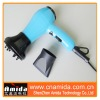 Portable Blue Colorful Mini Hair Dryer With Wind tuyere