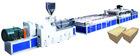 SXJZ Series PVC Wide Door Plate Extruding Production Line