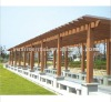 Outdoor Pergola With FSC ,CE ,SGS