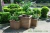 Wood plastic composite wpc flower pot design/LEMAX newest Outdoor Eco-Friendly PP WOOD Flower Pot /Providing WPC Flower Pot