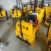 Infinitely variable speeds road roller for sale
