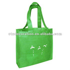 Promotional Nonwoven Fabric Reusable folding Shopping Bags