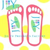Sticky feet spray tanning tent adhesive strapless sandals nude