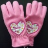 girls fashion Fleece glove
