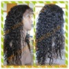 Beauty curly indian remy hair full lace wigs for black woman