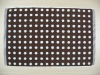 100% cotton dot jacquard bath mat