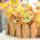 wholesale pvc keychain, pvc cartoon keychain