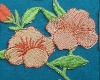 applique embroidery flower patches