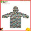 printed polyester child raincoat