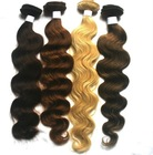 100% Virgin Indian remy human hair weft