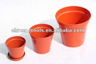 Export Straight edge plastic flower pots
