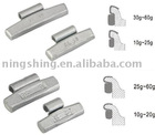 Clip-on Steel Weights