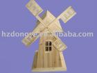 Wooden garden decoration Windmill