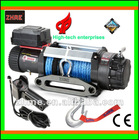 Electric Winch E 9500 with synthetic rope