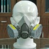 safety respirator mask with double filters