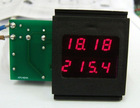 voltage ampere display panel meter