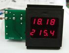 voltage ampere display panel meter