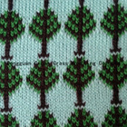 jacqurd yarn knitted fabric
