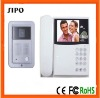 """4 wire 3.5""""/4"""" video door phone for villa"""