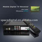DVB-T2009HD Car digital DVB-T Receiver MPEG4 250KM/H + 2 antenna