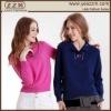 Pure mountain Cashmere Polo neck Pullover