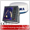 10 inch LCD display MARINE RADAR