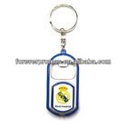 Christmas Metal Spinner Key Tag/Key chain for Christmas gift/Valentines Promotional Gift