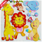 new 3D three-dimensional wall sticker the decorative stickers classrooms arranged children's room nursery decorations