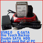 ESATA Dual Bay Use Out PC SATA Hdd Docking Station