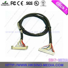 1.25 pitch LVDS Cable With PA66 94V-0 Housing