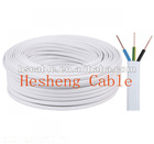 Hot Sales 3 Cores Solid Conductor PVC Flexible Flat TPS Cable
