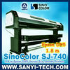 DX5 Head Eco Solvent Large Format Printer, SinoColor Signjet DX5 SJ740 ( printer with Epson DX5 Head, 1.8 m &3.2 m, 1440 dpi)