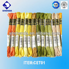 100% Cotton/Polyester Embroidery thread