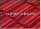 color stone coated roofing tiles