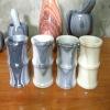 marble pencil vase
