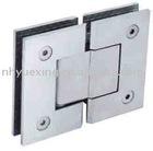 stainless steel shower glass door symmetrical hinge