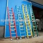FRP Double Extension Ladder,fiberglass telescopic ladder,straight extension ladder