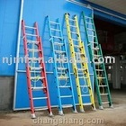 FRP Double Extension Ladder,fiberglass telescopic ladder,straight extension ladder